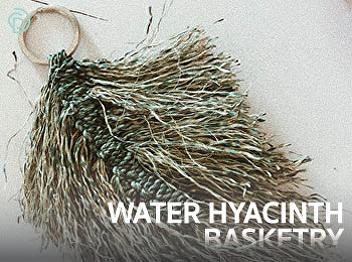 Fabricate water hyacinth