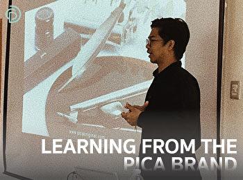 เรียนรู้ประสบการณ์จริงจากแบรนด์ pica