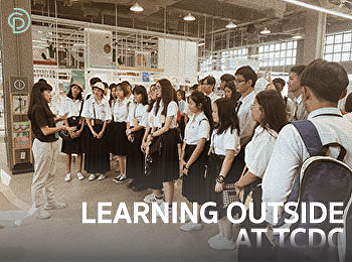 Learning outside the classroom at TCDC Bangkok